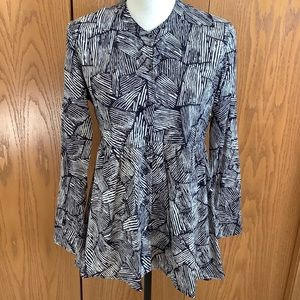 Anthropologie Maeve High-Low Tunic Top Sz-M